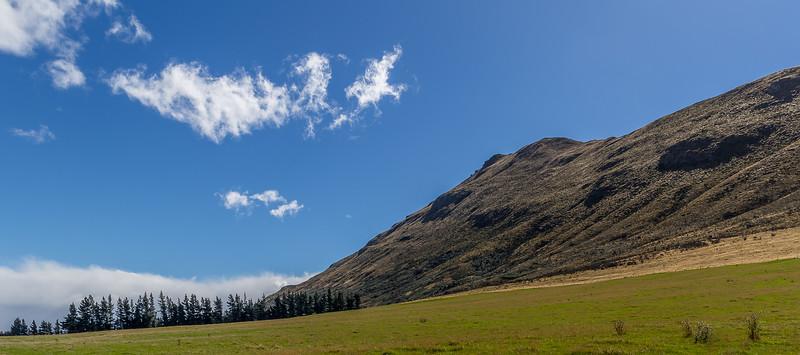 Der «Peak Hill» war heute wegen des starken Windes nicht erreichbar