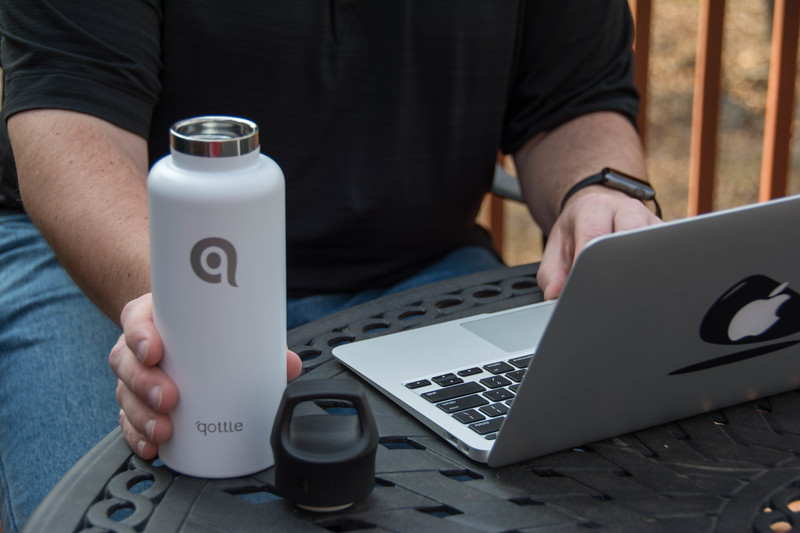 qottle water bottle