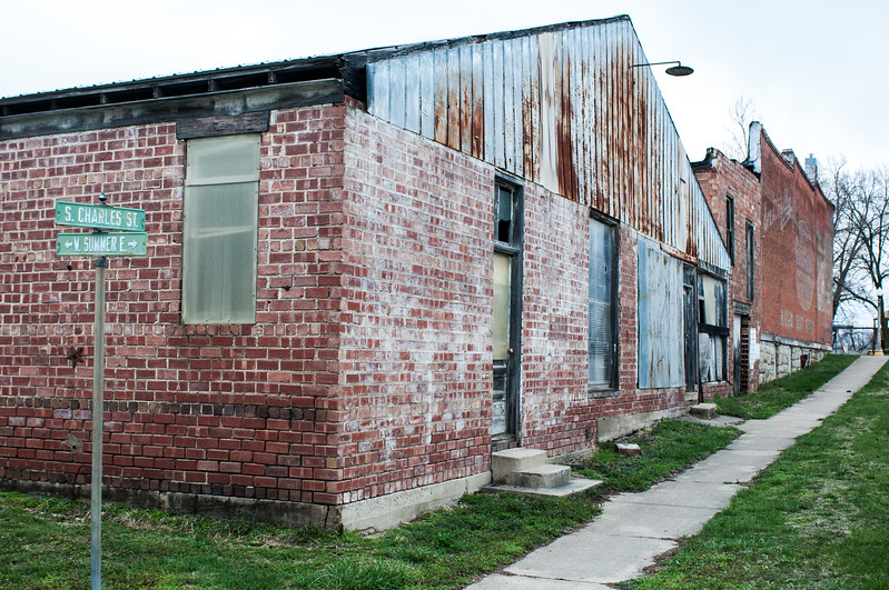 2017.03.31 - Plymouth, IL - abandoned shop buildings