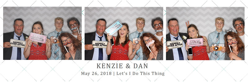 Mackenzie and Dan (photo strips)