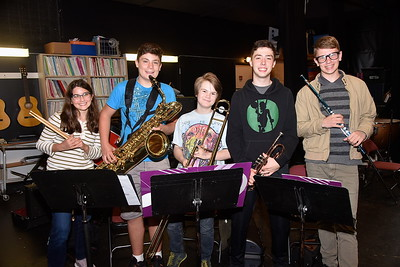 Check Out Jazz Band Class photos by Gary Baker
