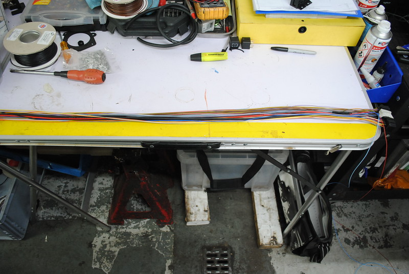 Making special wiring loom