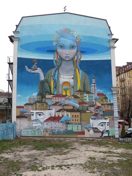 15 Kyiv, graffiti 'Revival' in Andriyivsky uzviz.jpg