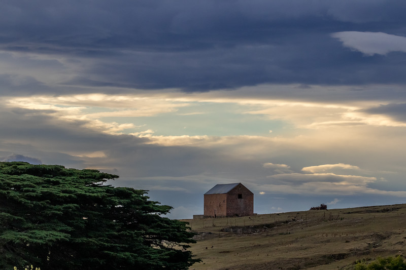 Maria Island historic building, Tasmania
