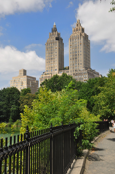 Central Park near The Resevior.