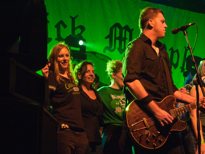 Jackie on Stage with the Dropkick Murphys.jpg
