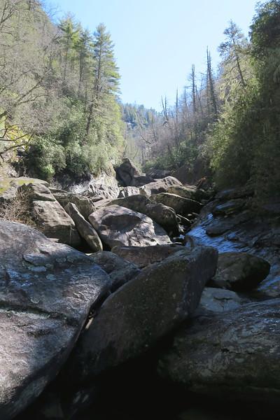 Lower Bonas Defeat Gorge