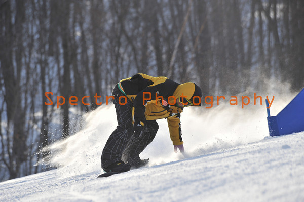 OFSAA Snow Boarding 2011 Mens 1st Run