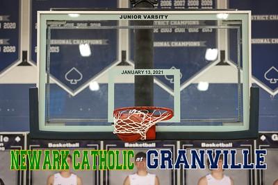 2021 Junior Varsity - Newark Catholic at Granville (01-13-21)