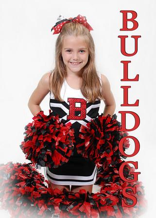 Otto Bulldogs Cheerleaders 2010