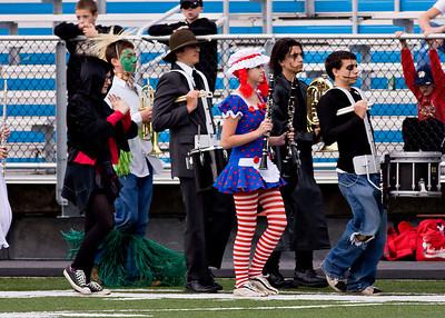 Nanticoke Band Halloween show 10/31/09