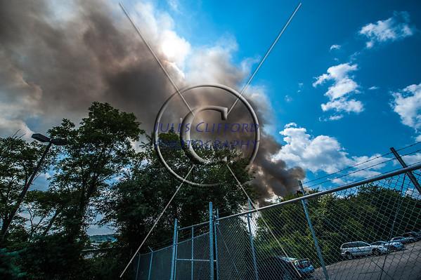 Fire on S. Picket, Alexandria