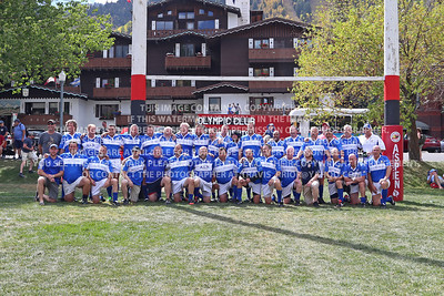 2018 Over 50's Division Kansas City Blues Brothers Rugby Men Aspen Ruggerfest 51