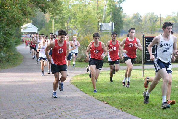 Boys Cross Country: GA vs Malvern Prep