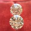 2.88ctw Old European Cut Diamond Pair, GIA I/VVS2 &  GIA H VS1 11