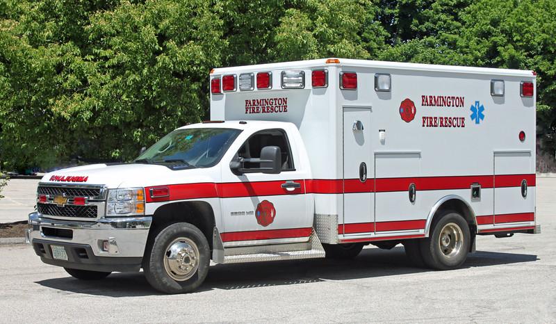 Ambulance 2 2013 Chevy
