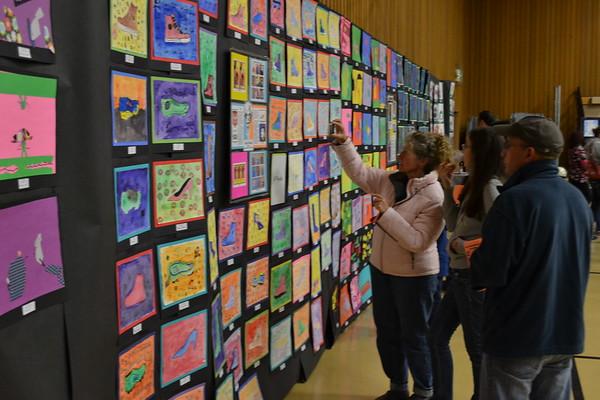 Jville School Art Show 2012