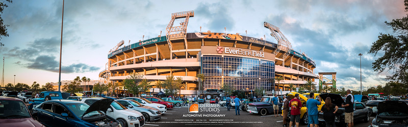 PANO 2017 10 Cars and Coffee - Everbank Field 110A - Deremer Studios LLC