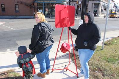 Red Kettle Campaign Kick Off, KickOff, Depot Square Park, Tamaqua (11-21-2014)