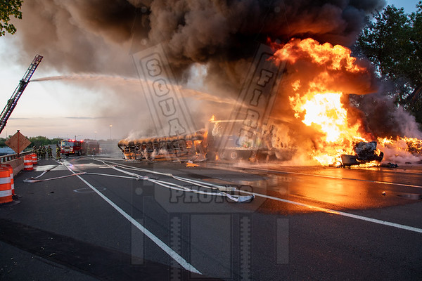 East Hartford, Ct 2nd alarm MVA w/fire 6/3/19