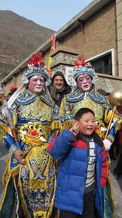 new year in the Beijing village