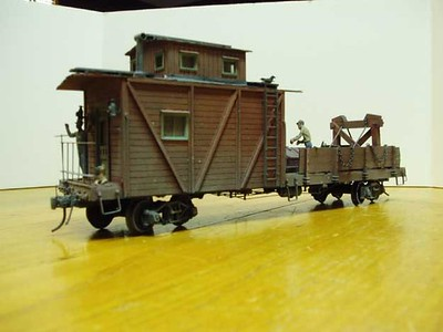 Crane Tender Car