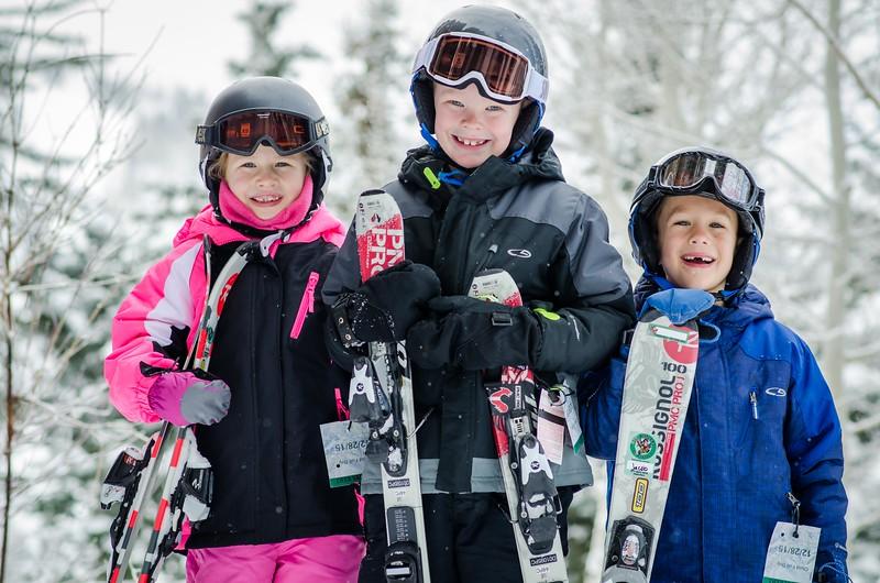 Bingham Family Ski Portrait