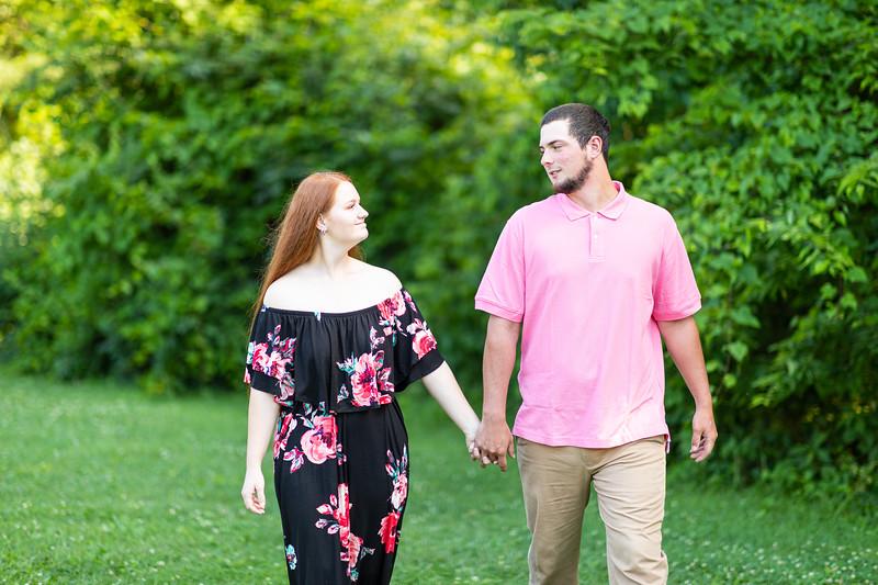Katie & Bryce | Engagement Session in Waynesboro, VA