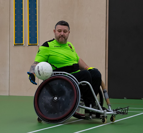 Northampton Saints Wheelchair Rugby vs Leicester Tigers Wheelchair Rugby, Friendly, Northampton International Academy, 24 February 2019