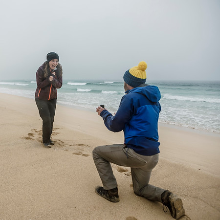 Surprise Proposal - Scarista Beach, Isle of Harris