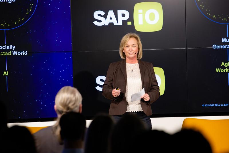 #demoday #SAPiOSF @Sap_iO Pamela Marion SVP Head of Strategic Programs and Chief of Staff at SAP SuccessFactors
