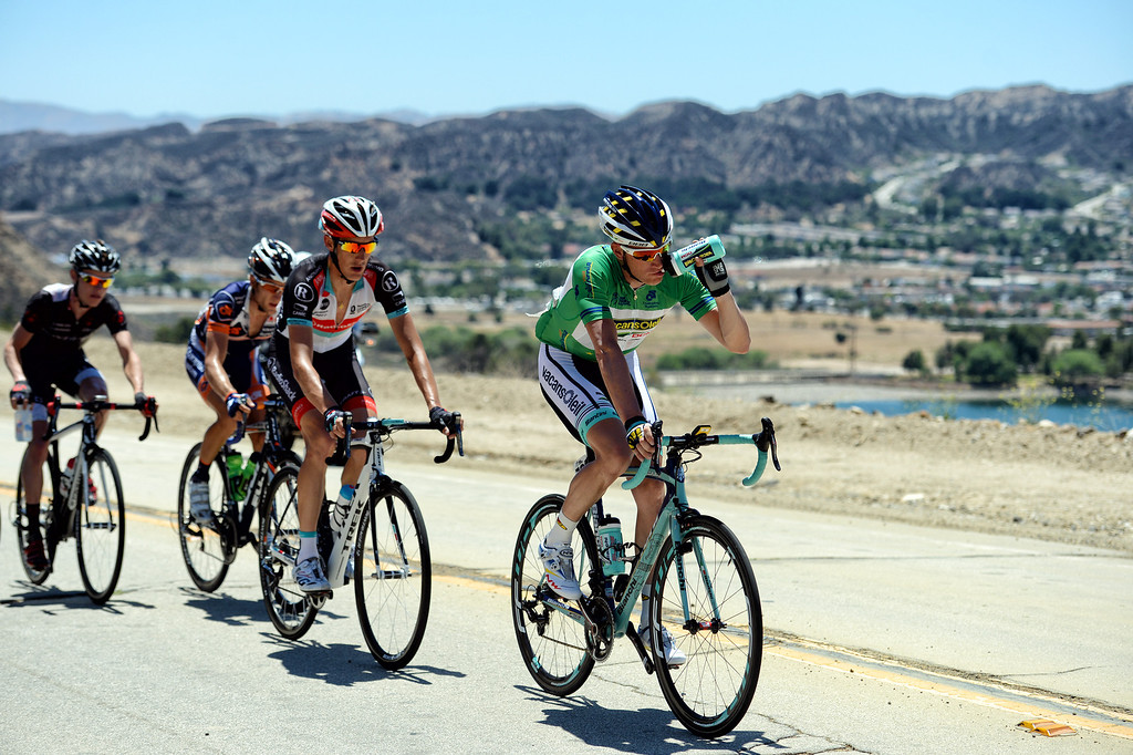 . during Stage 3 from Palmdale to Santa Clarita of the Amgen Tour of California bicycle race Tuesday, May 14, 2013. (Hans Gutknecht/Los Angeles Daily News)