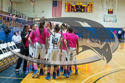 Women's Basketball vs. Merrimack Play4Kay (2/18/15) Courtesy Jim Stankiewicz