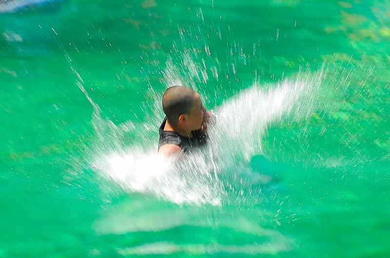 Making A Splash - Ponce de Leon Springs. FL