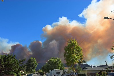Simi Valley 2005 Fire