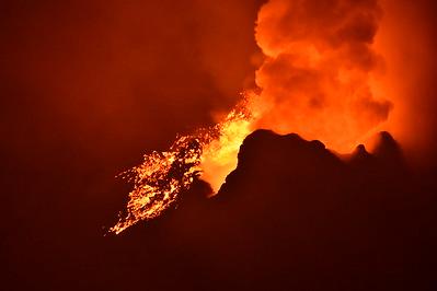 Nyiragonga Volcano, DR Congo 2020