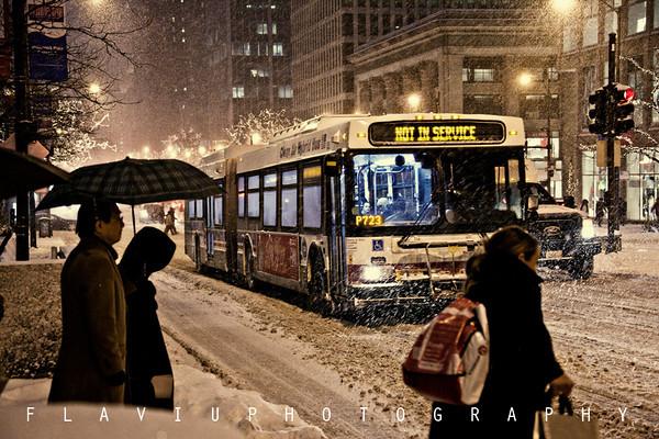 January Snow 2012