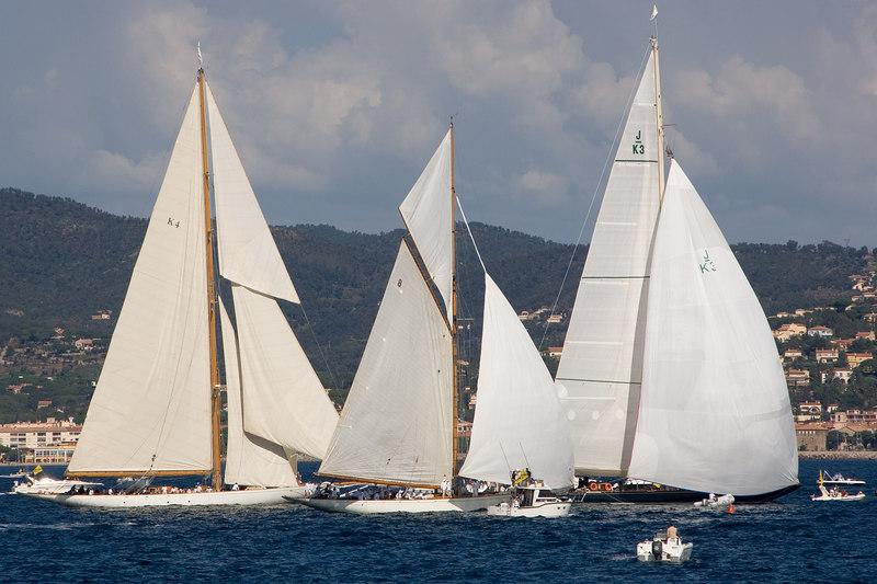 K4 - J boat, Cambria; 8 - Moonbean IV; K7 - Valsheda