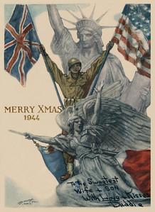 Fred Korb's World War II scrapbook