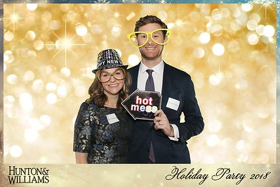 Hunton & Williams Holiday Party 2018