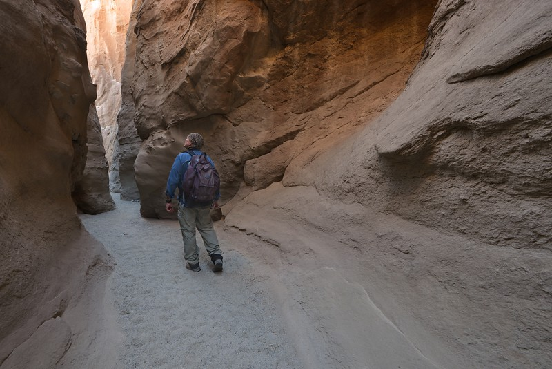 (2013-October 28)  South Fork of Palm Slot Canyon and Vista Del Malpais