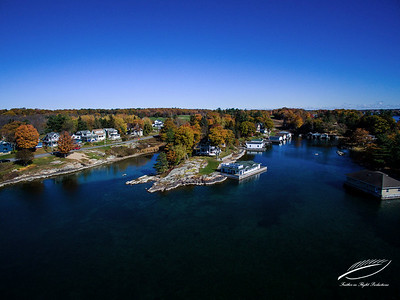 Fall Thousand Islands - St. Lawrence River