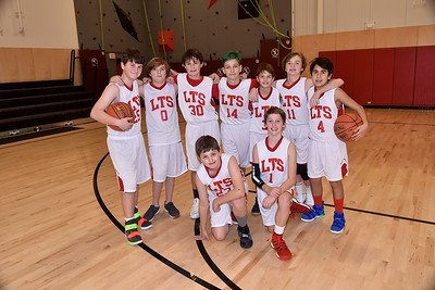 Meet The LTS M.S. Boys Basketball Team photos by Gary Baker