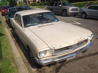 1966 Mustang Body Damage
