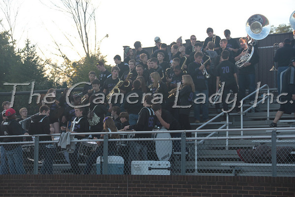 CHCA 2013 HS Pep Band vs Indian Hill 09.14