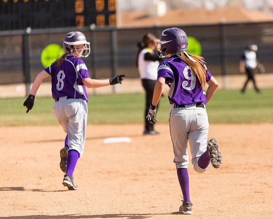 Canyon vs Amarillo High Softball
