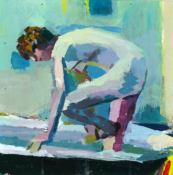 Nude Washing Her Foot (after Bonnard)