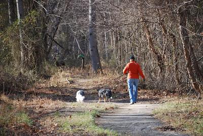 Dog Walk 12-24-07