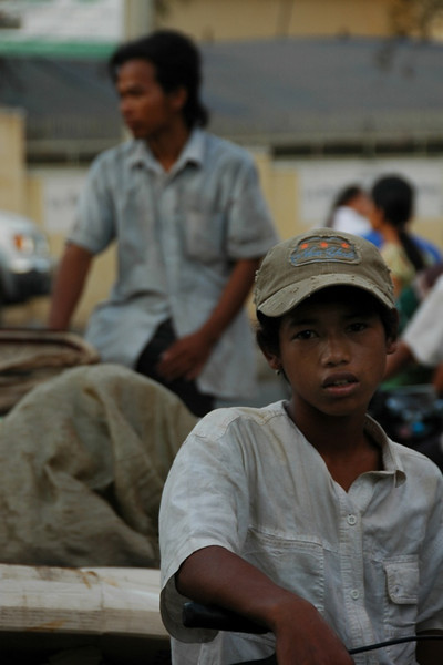 A Boy and His Bike - Phnom Penh, Cambodia