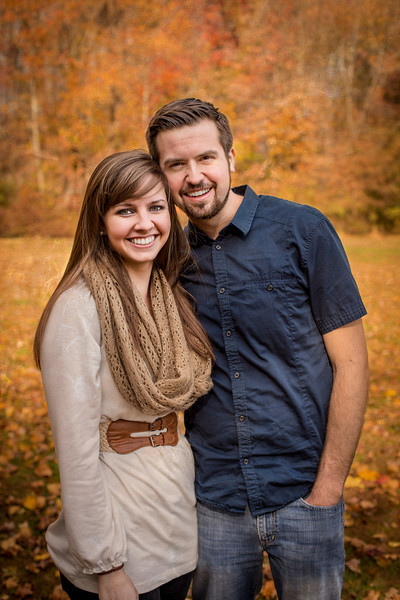 Phil & Melissa Fall Portrait - Laurel Acres, Mt. Laurel, NJ